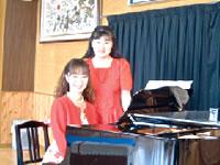 村岡ゆきえとピアノ